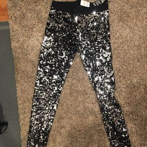 NEVER WORN!! Sparkly Express leggings